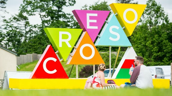Croseo sign at Urdd