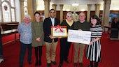 LRAW Presenting donation