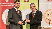 Dr Stuart Fox and Mark Drakeford