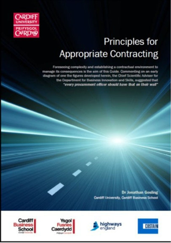 Principles for appropriate contracting cover image