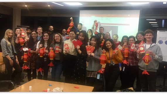 Chinese New Year at Deloitte