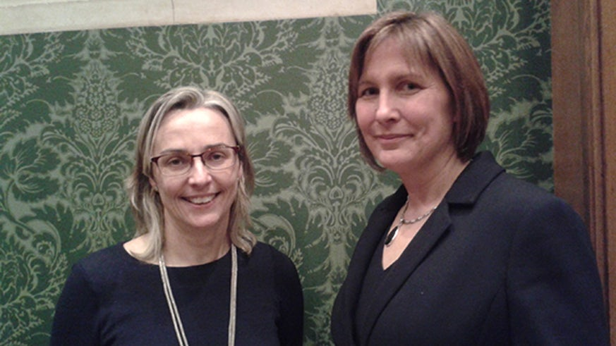 Professor Imelda Maher and Dr Rachel Cahill-O'Callaghan