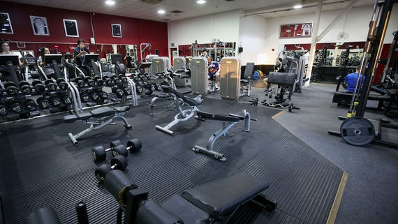 Fitness suite at the Sports training village