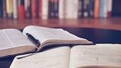 books on desk