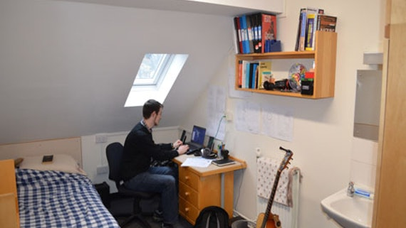 Cardiff University Computer Science Student Room