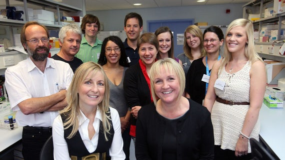 Fiona Phillips visits MRC centre