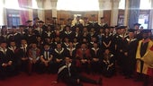 Graduands in the class of 2015