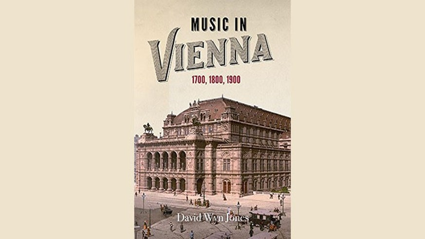 Front cover of Music in Vienna book