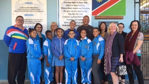 Translation Professor joins delegation to Namibia for Phoenix Project visit