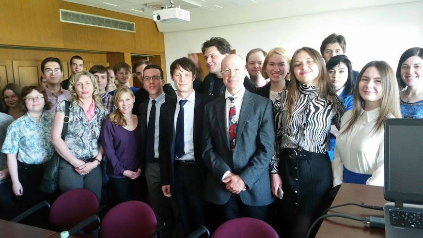 Cardiff historians in Moscow
