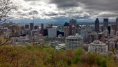 View form Mount Royal, Montreal