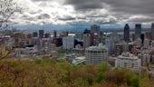 Golwg o gopa Mount Royal, Montreal