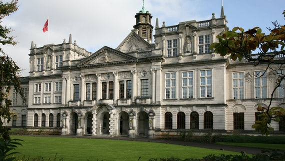 Main Building from Museum Avenue