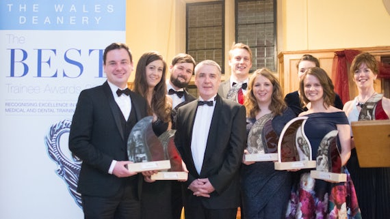 Cardiff trainee doctors and dentists receiving awards