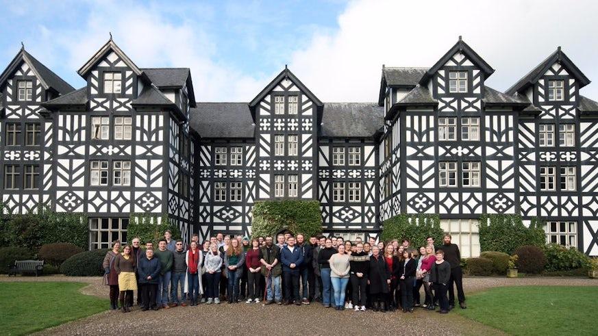 2017 Medieval History Colloquium at historic Gregynog Hall