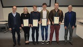 Prize winners at the 16th Cardiff Chemistry Conference