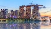 Singapore Skyline Marina Bay Sands