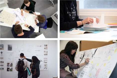Students in the Master of Architecture