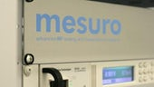 Mesuro logo on piece of equipment