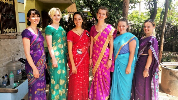 Leanne in India