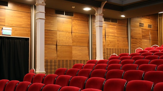 Photograph of a lecture theatre