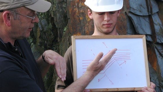 Geology field teaching
