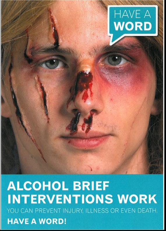 Alcohol brief interventions work. You can prevent illness, accident or even death. Have a word!