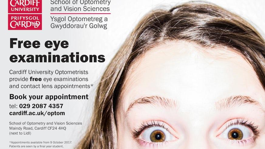 Eye clinic ad