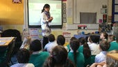 Teaching Chinese in a school room
