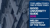 Welsh Uni of the Year - Graphic