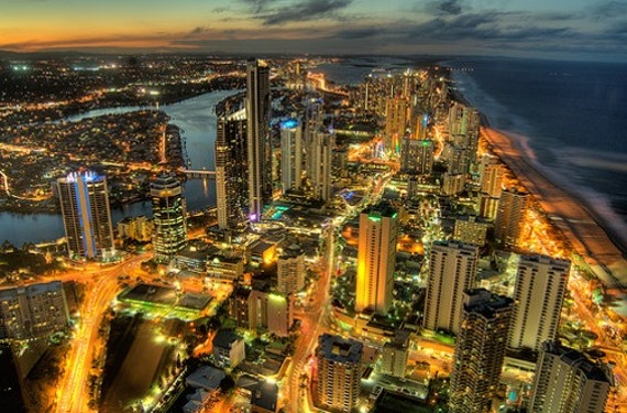Image of a city do demonstrate the international implementation of the Cardiff Model