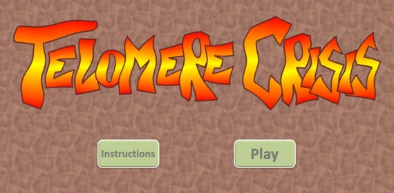 Start page for Telomere Crisis game