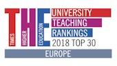 Times Higher Education Europe Teaching Rankings