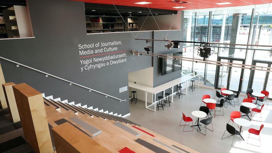 New JOMEC building