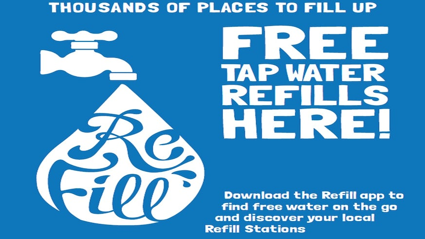Image of Refill poster