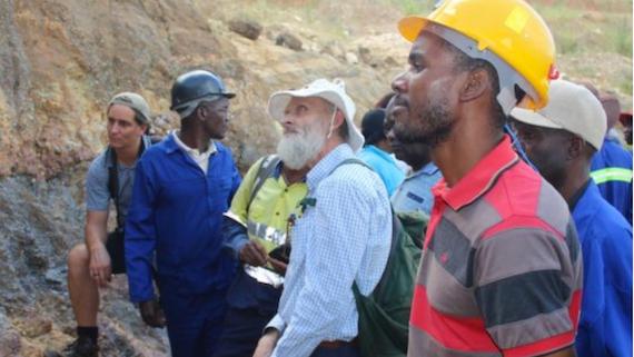 Professor Tom Blenkinsop in Zimbabwe