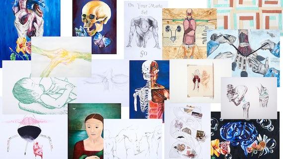 C21 artwork collage