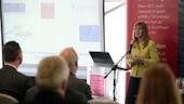 Dr Kay Swinburne, MEP, addressing the Smart Specialization and Horizon 2020 workshop
