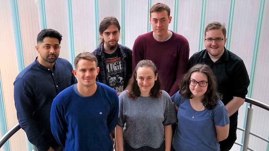 Cohort one of EPSRC Centre for Doctoral Training (CDT)