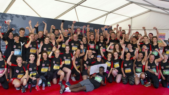 #TeamCardiff runners in 2019