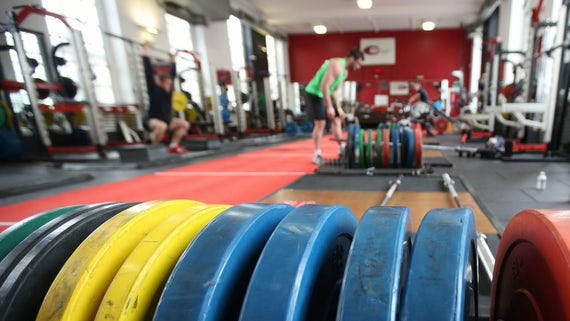 Strength and Conditioning Centre weights