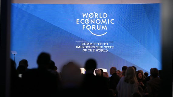 Audience at World Economic Forum event