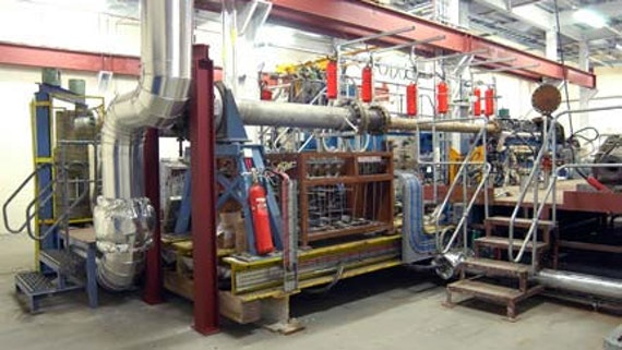 High pressure combustor rig