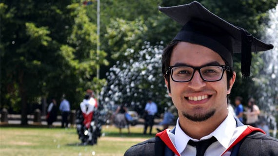 Pakistan student at Graduation