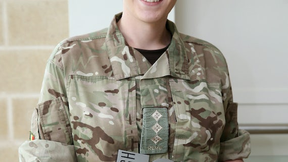 Captain Hannah Winterbourne REME