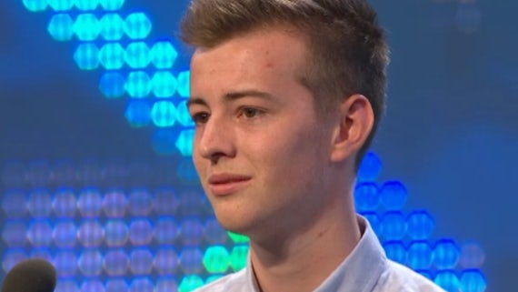 Graduate Steffan Rhys Hughes competing at the 2014 National Eisteddfod