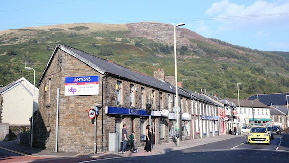 Street in Treorchy