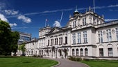 Main Building_BlueSky_GreenGrass