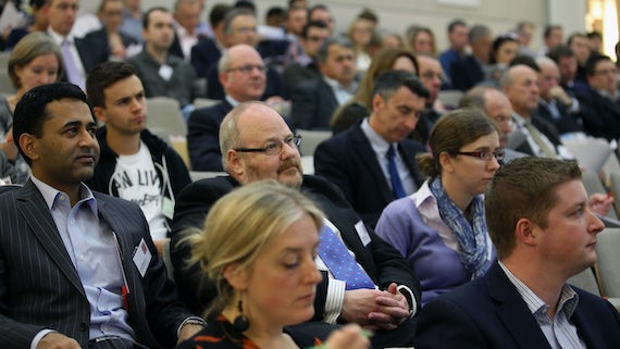 Audience at an Innovation Network event