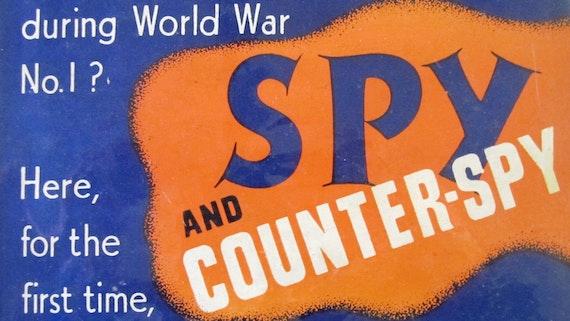 Cover image, Voska, Master-spy